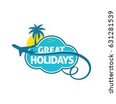 great holidays travel trips... | Shutterstock .eps vector #631281539