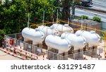 lpg gas tank | Shutterstock . vector #631291487
