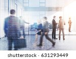 business people are walking in... | Shutterstock . vector #631293449