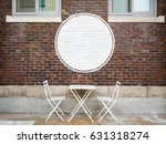 blank logo white sign cafe shop ... | Shutterstock . vector #631318274