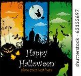 halloween illustration | Shutterstock .eps vector #63132697