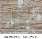 Small photo of interior house alteration work and unfinished wall on wood background texture