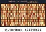 bronze gradient pattern... | Shutterstock .eps vector #631345691