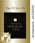 gold exclusive background  ...   Shutterstock .eps vector #63135553