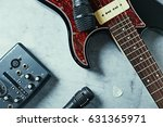 Electric Guitar With Accessory...