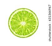 vector lime slice. illustration ...   Shutterstock .eps vector #631366967