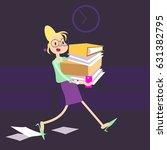 vector illustration of female...   Shutterstock .eps vector #631382795