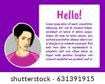 banner with business people.... | Shutterstock .eps vector #631391915