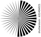 circular  radiating abstract... | Shutterstock .eps vector #631406021