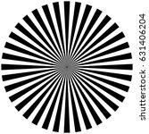circular  radiating abstract... | Shutterstock .eps vector #631406204