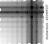 geometric black and white... | Shutterstock .eps vector #631409237