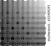 geometric black and white... | Shutterstock .eps vector #631409291