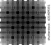 geometric black and white... | Shutterstock .eps vector #631409351