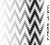 geometric black and white... | Shutterstock .eps vector #631410491