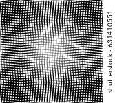 geometric black and white... | Shutterstock .eps vector #631410551