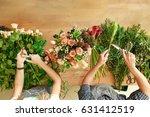 small business. flowers... | Shutterstock . vector #631412519