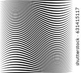 geometric black and white... | Shutterstock .eps vector #631415117
