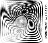 geometric black and white... | Shutterstock .eps vector #631415144
