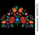 hungarian folk art | Shutterstock .eps vector #631421771