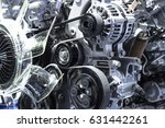engine car | Shutterstock . vector #631442261