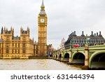 london   big ben and historical ...   Shutterstock . vector #631444394