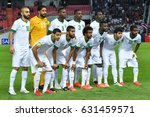 players of saudi arabia shot... | Shutterstock . vector #631459571