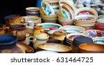 traditional ukrainian  ceramic... | Shutterstock . vector #631464725
