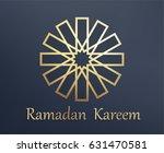 islamic arabic background. gold ... | Shutterstock .eps vector #631470581