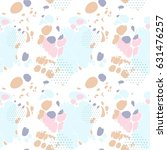 seamless pattern with colored...   Shutterstock .eps vector #631476257