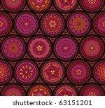 Seamless Old Fashioned Pattern