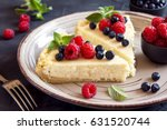 Homemade Cheesecake With Fresh...