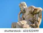 marble statue of the great... | Shutterstock . vector #631522499