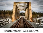 Railway Bridge In North Of...