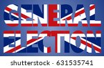 united kingdom  uk  general... | Shutterstock .eps vector #631535741