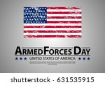 armed forces day template... | Shutterstock .eps vector #631535915