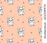 Seamless Pattern With French...