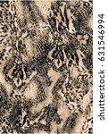 snake pattern  | Shutterstock .eps vector #631546994