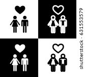 family symbol with heart.... | Shutterstock .eps vector #631553579
