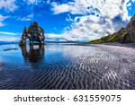north coast iceland. the... | Shutterstock . vector #631559075