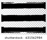 grunge paint stripe . vector... | Shutterstock .eps vector #631562984