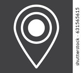 location line icon  map pin and ...