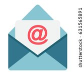 email flat icon  envelope and...