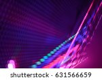 abstract led wall background  | Shutterstock . vector #631566659