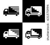 delivery sign illustration.... | Shutterstock .eps vector #631570994