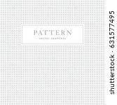 simple geometric seamless... | Shutterstock .eps vector #631577495