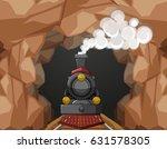 Train Ride Through The Cave...