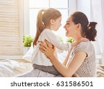 happy mother's day  mom and her ... | Shutterstock . vector #631586501