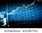 financial accounting of profit... | Shutterstock . vector #631587761