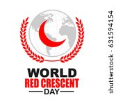 world red crescent red cross day | Shutterstock .eps vector #631594154
