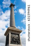 Small photo of the column of Admiral Nelson